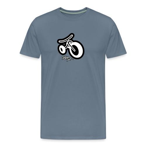 3cycle FTF white - Maglietta Premium da uomo