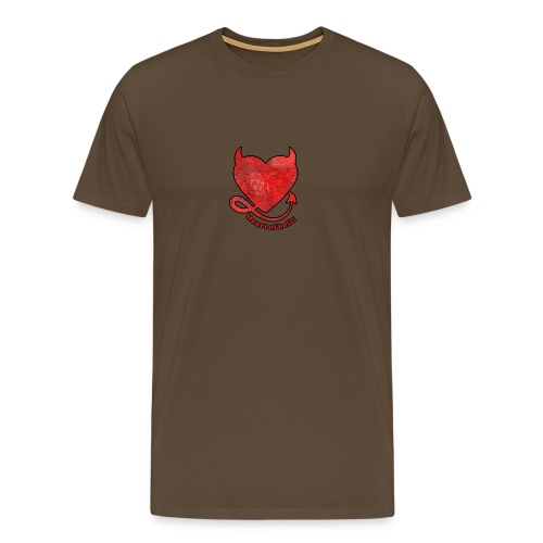 HEART OF HELL! - T-shirt Premium Homme