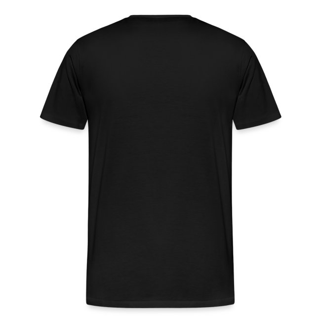 Square t shirt black