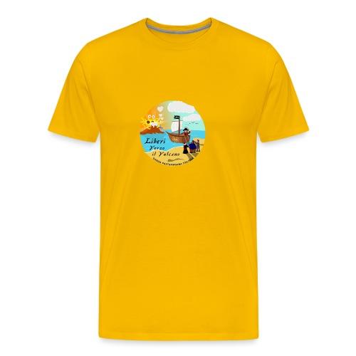 Verso_il_Vulcano_SHOP_DEF - Maglietta Premium da uomo