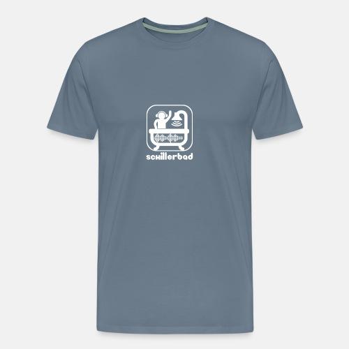 Schillerbad_White - Männer Premium T-Shirt