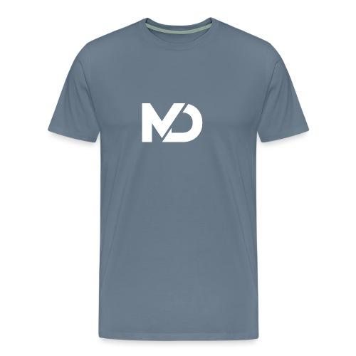 logo_wit - Mannen Premium T-shirt