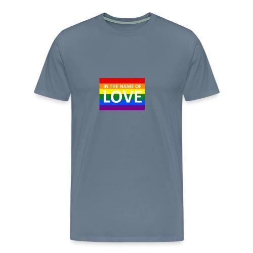 IN THE NAME OF LOVE CAP - Herre premium T-shirt