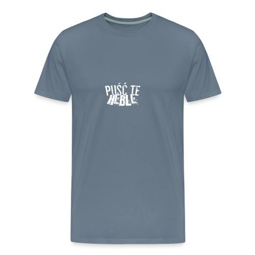 PTH white D - Koszulka męska Premium