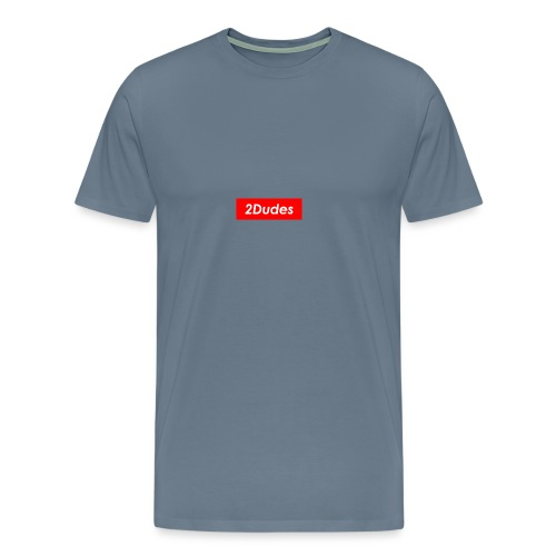 2Dudes Box Logo - Men's Premium T-Shirt