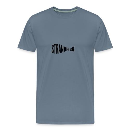 Fancy Strandfisk fisk - Premium T-skjorte for menn