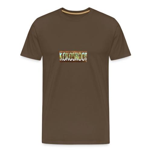 Kokosnoot - Mannen Premium T-shirt