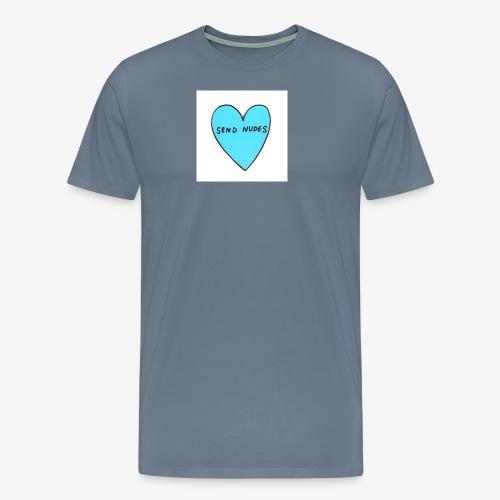 send nudes - Men's Premium T-Shirt