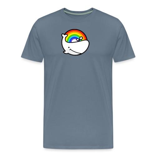 whale - Premium-T-shirt herr