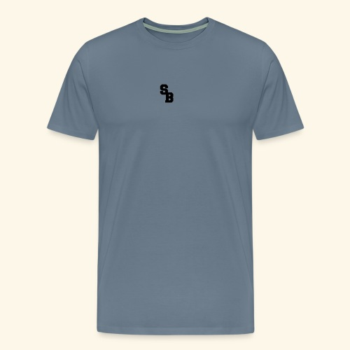 steelbeast logo - Premium T-skjorte for menn