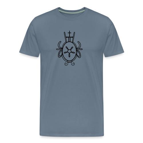 Haaksbergen Wapen 1737 - Mannen Premium T-shirt