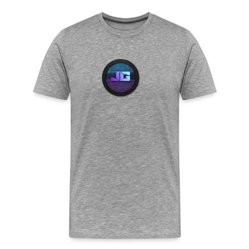 Telefoon hoesje 5/5S met logo - Mannen Premium T-shirt