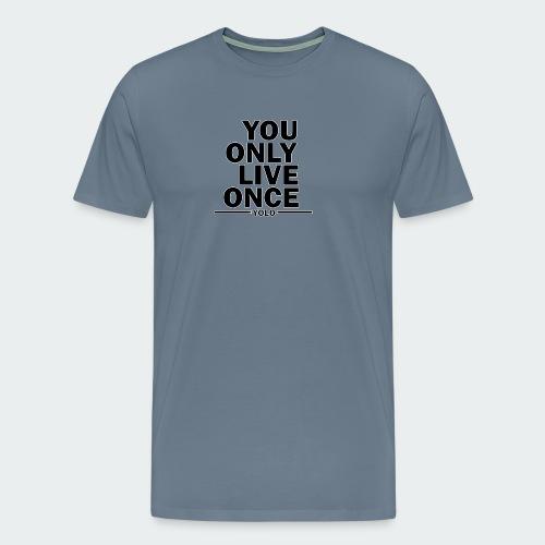 Koszulka Damska Premium YOLO - Koszulka męska Premium
