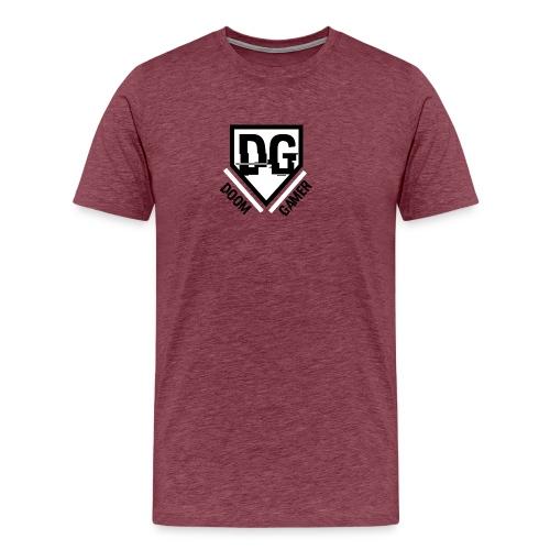 Doomgamer's muismat - Mannen Premium T-shirt