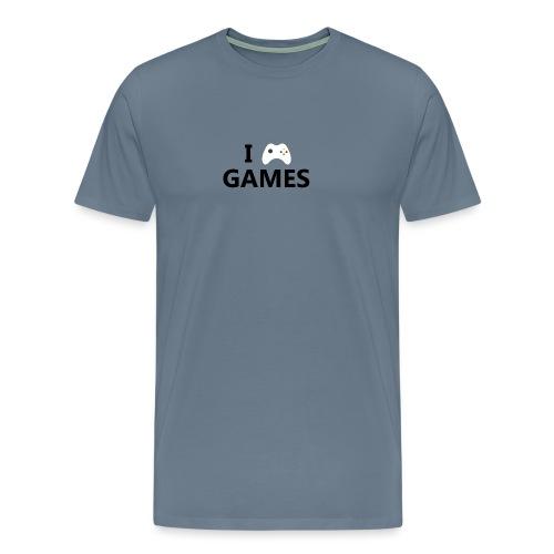 I Love Games - Camiseta premium hombre