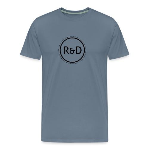 logo_zwart - Mannen Premium T-shirt