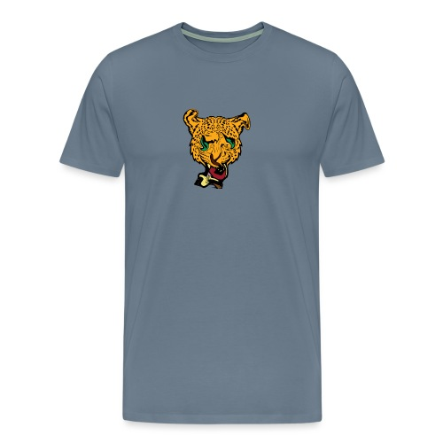 UbberxSpherre Dead Meme Logo - Men's Premium T-Shirt