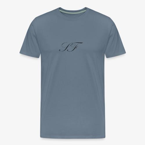 SF HANDWRITTEN LOGO BLACK - Men's Premium T-Shirt