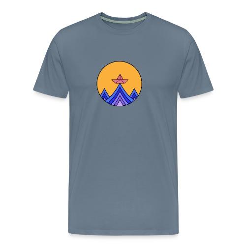 papierboot2 - Männer Premium T-Shirt