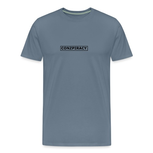 CONZPIRACY wording - Men's Premium T-Shirt