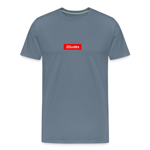 2Dudes Box Logo - Men's Premium T-Shirt