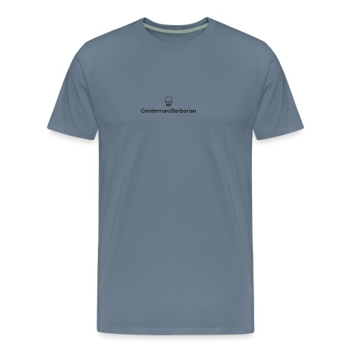 gent barb - Premium T-skjorte for menn
