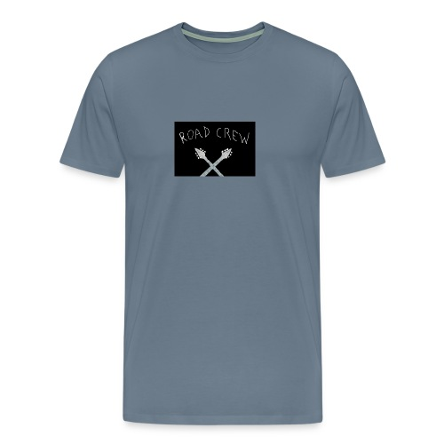 Road_Crew_Guitars_Crossed - Men's Premium T-Shirt