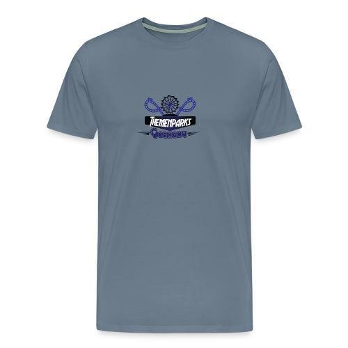 Themenparks Germany Logo - Männer Premium T-Shirt