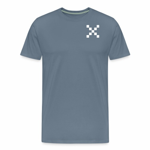 Xwhite png - Herre premium T-shirt