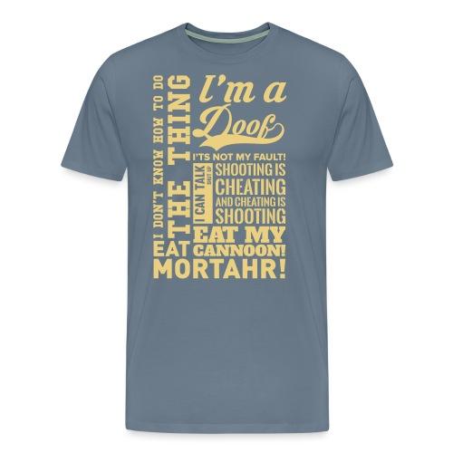 AllQuotesXL - Men's Premium T-Shirt