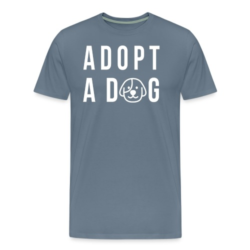 adoptadog png - Männer Premium T-Shirt
