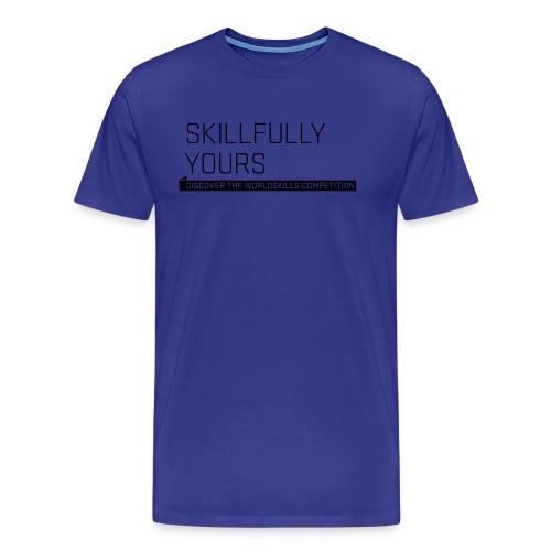 wsl typomotive schwarz 6 - Men's Premium T-Shirt
