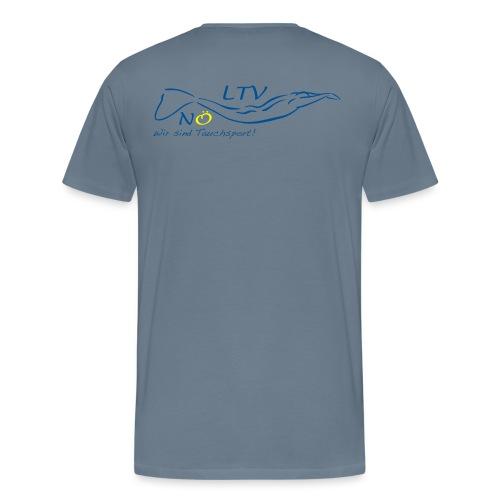 LOGO NOELTV FERTIG png - Männer Premium T-Shirt