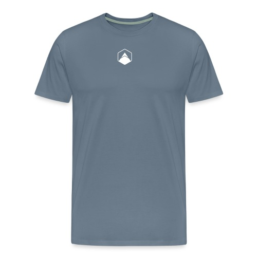 uphill-Logo-Bildmarke - Männer Premium T-Shirt