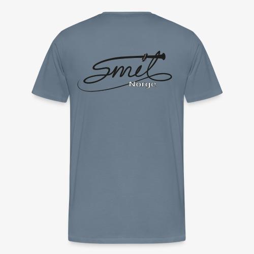 Smil-Norge - Premium T-skjorte for menn