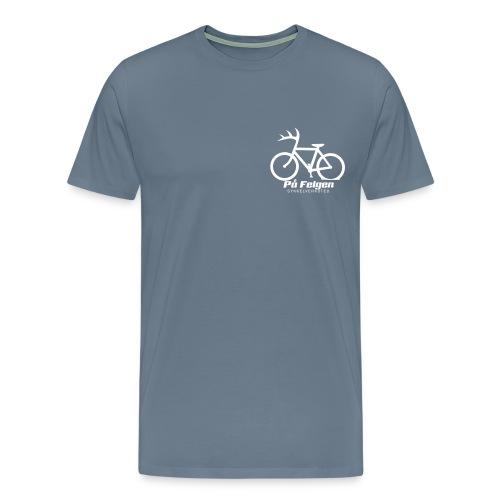 Pa felgen - Premium T-skjorte for menn
