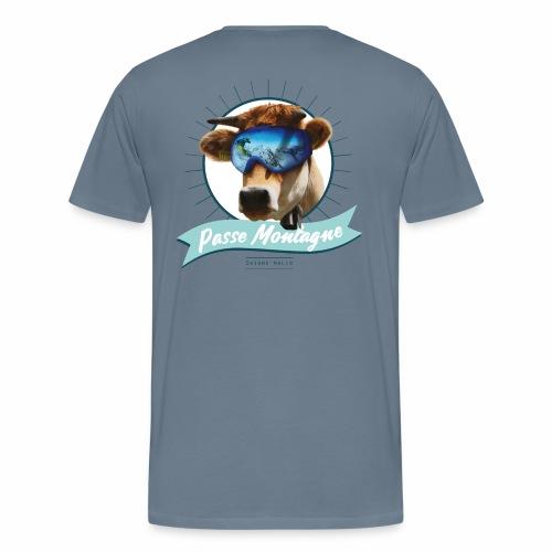 La vache masquée - T-shirt Premium Homme
