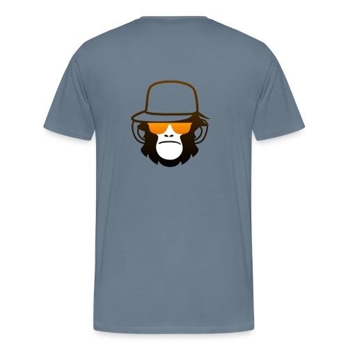 Aap Met Bril En Cap - Mannen Premium T-shirt