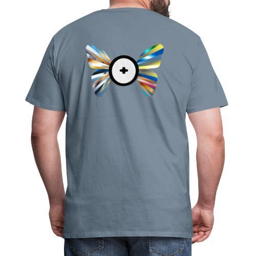 Butterfly Trans-Evolution - Maglietta Premium da uomo