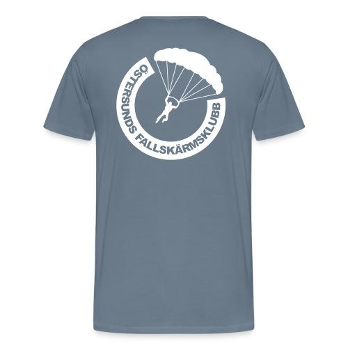 ÖFSK 2015 logo bröst - Premium-T-shirt herr
