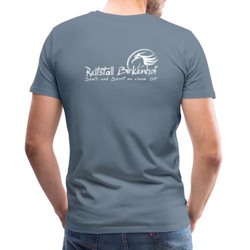 Schriftzug mit Logo - Männer Premium T-Shirt