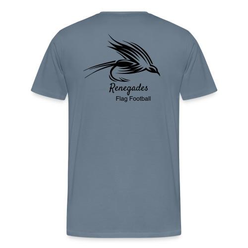 Renegades_Black_Schrift P - Männer Premium T-Shirt