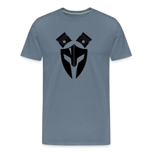 Trucker Maske Kolben 1 - Männer Premium T-Shirt