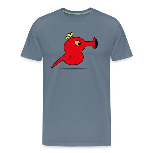 Cap Birdy - Männer Premium T-Shirt