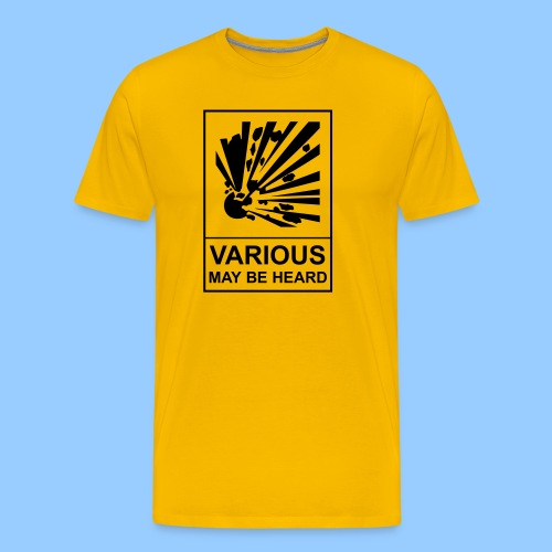 VariousExplosions (1 colour) - Men's Premium T-Shirt