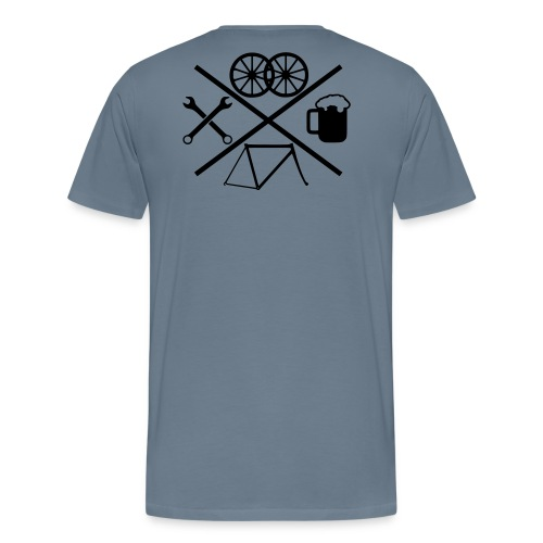 Cross Bike - Männer Premium T-Shirt