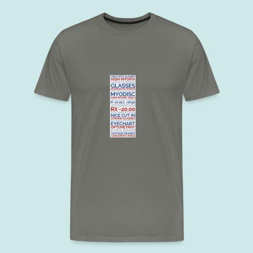 Myopia Poster 3 - T-shirt Premium Homme