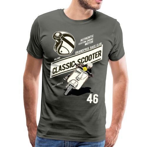 Classicscooter Race - Männer Premium T-Shirt