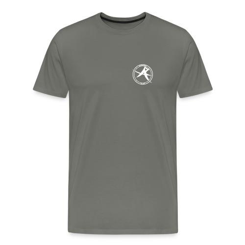 ALPHA Logo white - Männer Premium T-Shirt
