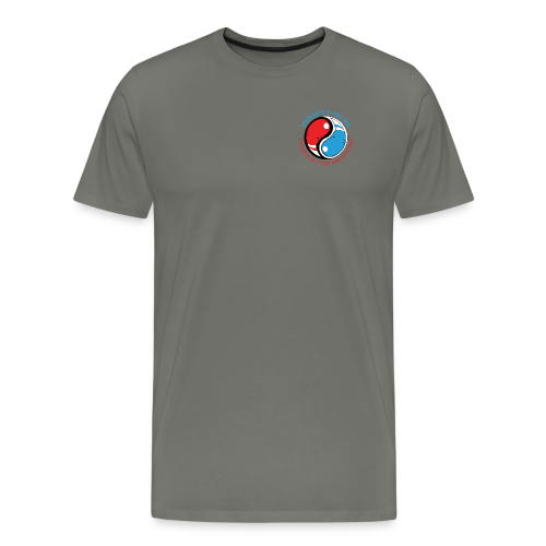 Ying Yang for Fighter - Männer Premium T-Shirt